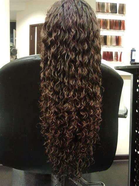 ideas  perms long hair  pinterest perms