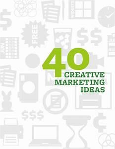 40 Creative Marketing ideas