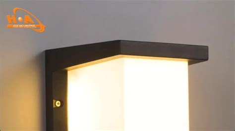 modern cube led 12w boundary landscape wall l fixtures