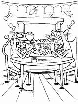 Breakfast Coloring Pages Catdog sketch template