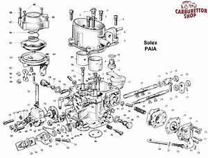 Solex Paia Carburetor Parts