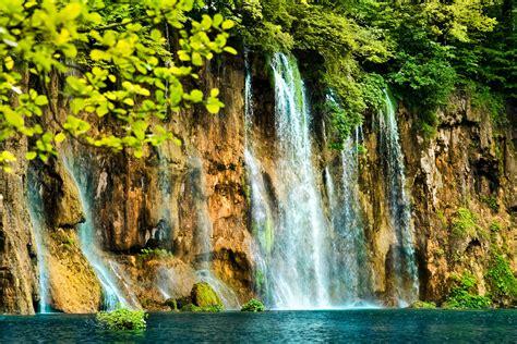 waterfalls, Crag, Nature Wallpapers HD / Desktop and ...
