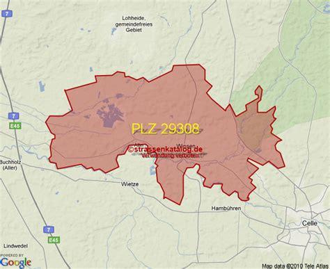 Vorwahl Winsen Aller by Postleitzahlgebiet 29308 Plz