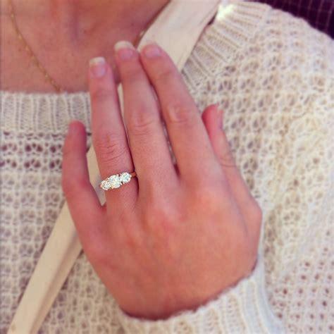 my three engagement ring 3