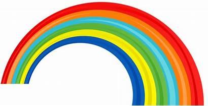 Rainbow Clipart Preschool Transparent Rainbows Clouds