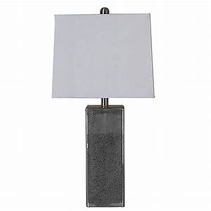 Lilian square mercury table lamp bed bath beyond for Bed bath n table lamp