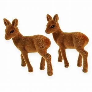 Tierfiguren Aus Kunststoff : reh stehend beflockt 10cm 6st preiswert online kaufen ~ Yasmunasinghe.com Haus und Dekorationen