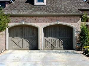 garage barn doors With barn door looking garage doors