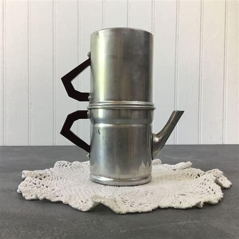 The bialetti moka pot is now standard fare in italian homes. Vintage, Coffee Pot, Italian, Espresso Maker, Made in ...