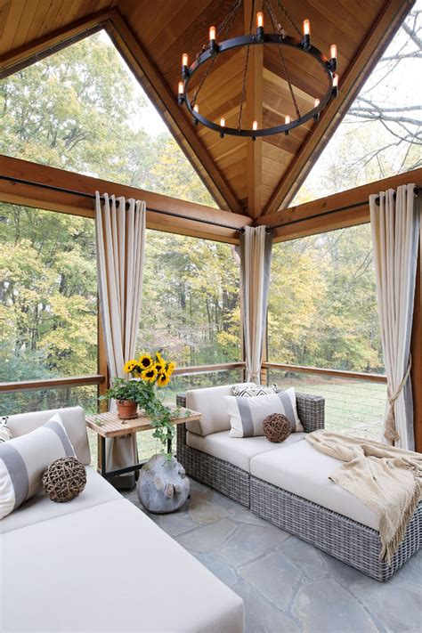 wonderful farmhouse sunroom designs worth checking