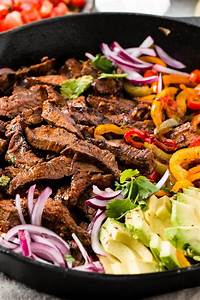 Our Favorite Steak Fajitas Marinade - Oh Sweet Basil