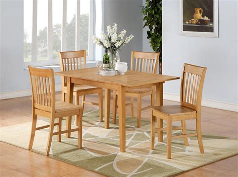furniture kitchen sets 5pc norfolk rectangular dinette kitchen dining table with