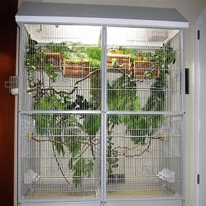 vogelkafig und voliere selber bauen With französischer balkon mit vogelvolieren für den garten selber bauen