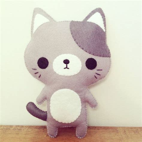 cat plushie cat stuffed cat plush kawaii cat plushie toys
