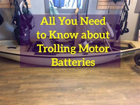 Boat Battery For Trolling Motor by What Size And Type Of Battery For Trolling Motor