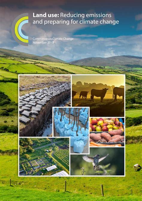 land  reducing emissions  preparing  climate