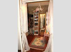 bohemian shabby chic walk in closet Closet Space