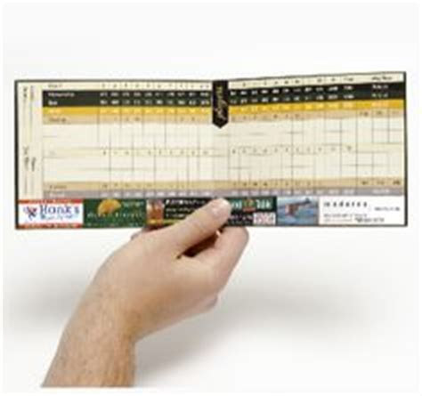 1000+ Images About Golf Scorecards By Bench Craft Company