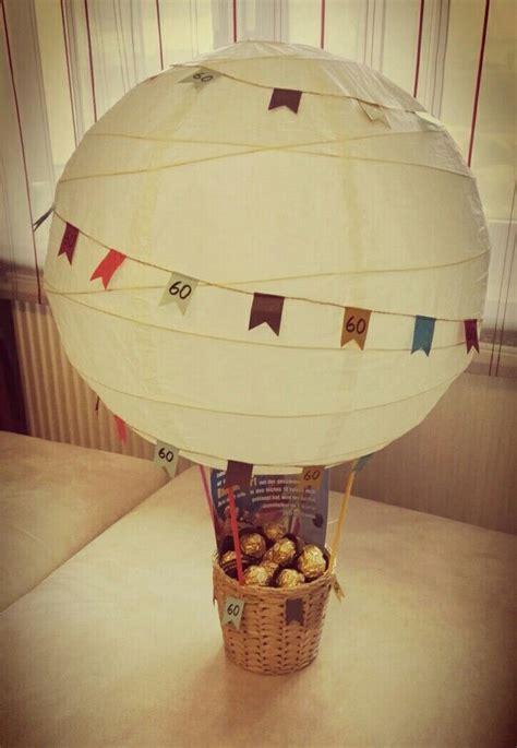 geschenk ballonfahrt  geburtstag
