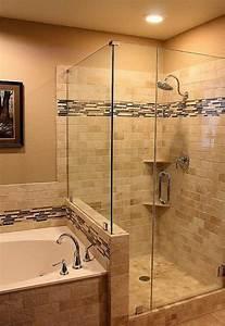 Couleur Pour Salle De Bain : photo carrelage salle de bain 2 couleurs ~ Preciouscoupons.com Idées de Décoration