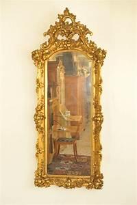 Spiegel Groß Antik : gro er barocker spiegel antik im hof alter originaler ~ A.2002-acura-tl-radio.info Haus und Dekorationen