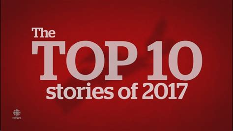 Top Ten Most Read Stories For 2017