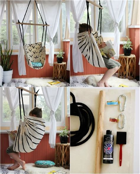 How To Make A Hammock With A Sheet by Stretch Your Legs And Get Comfy 10 Easy Diy Hammocks For