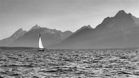 Boat Rental Jackson Lake by Sailing On Jackson Lake Grand Teton National Park