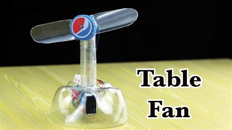 how to make fan made videos how to make a table fan totally made with plastic bottle