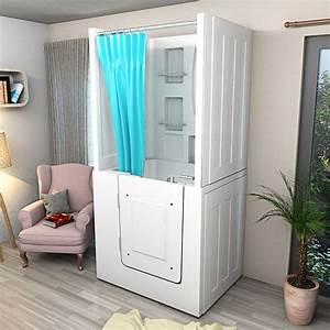Sitzbadewanne Mit Dusche : senioren dusche sitzbadewanne sitzwanne badewanne mit t r pool a102d ~ Watch28wear.com Haus und Dekorationen