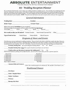 7 best images of printable wedding planner contract for Wedding vendor contract template