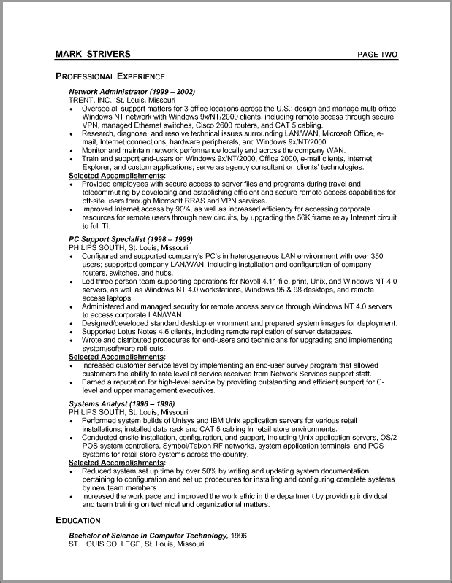 resume exles activities resume template