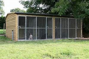 Dog kennel block the wooden workshop oakford devon for The dog house kennel