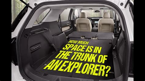 space    trunk    ford explorer