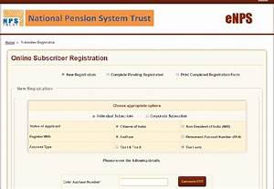 Enps How Open And Invest In Nps Account Online Basunivesh