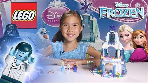 elsa s sparkling castle lego disney frozen set 41062