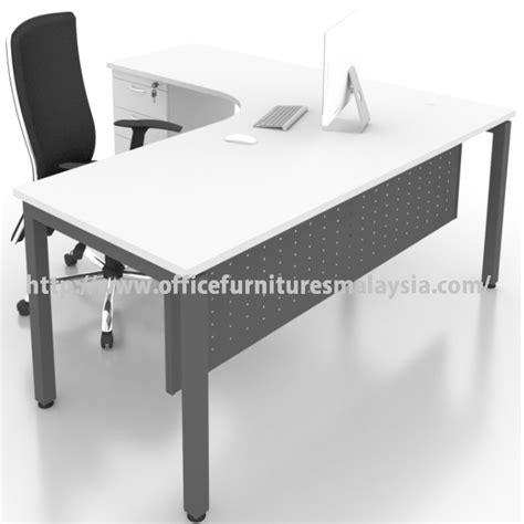 modern  shape executive desk office table malaysia