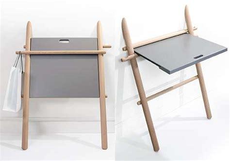 bureau retractable retractable side tables appunto folding table