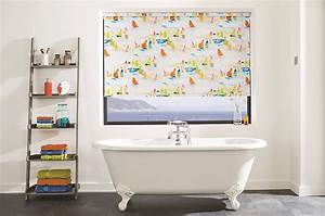 easy to identify fabrics suitable for damp environments With blinds suitable for bathrooms