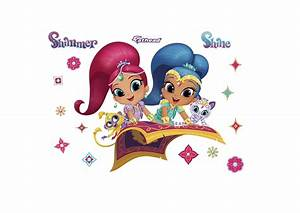 Shimmer and Shine Wall Decal Shop Fathead® for Shimmer