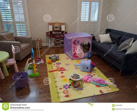 living room full  toys editorial image image