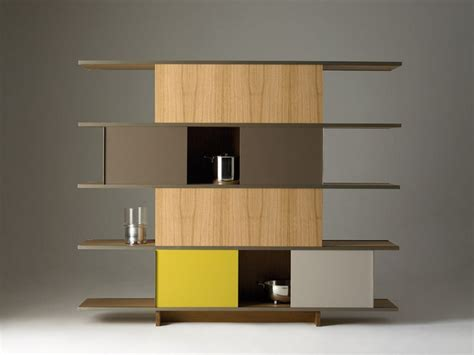 Modular Shelving Units by Modular Shelving System Unit With Plywood Elements