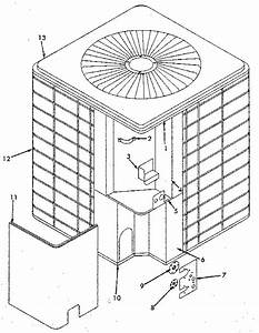 Icp Ca3036vkb1 Central Air Conditioner Parts