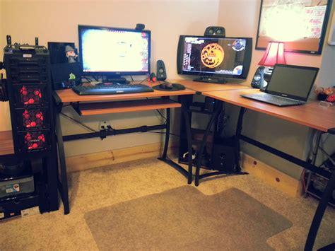 L Shaped Gaming Desk Ideas