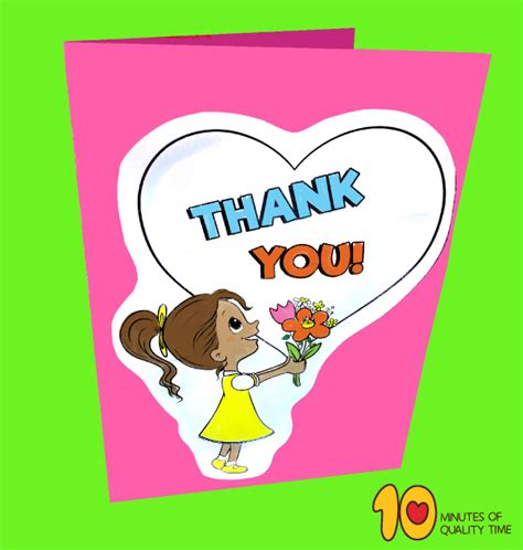 teachers day card template  minutes  quality time