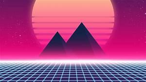 Retrowave, 90s, 4k, Synthwave, Wallpapers, Retrowave