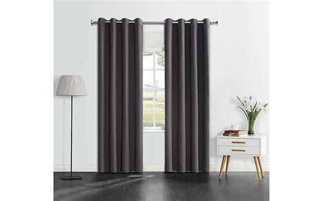 Onlyyou Window Grommet Thermal Blackout Curtains Drapes For Nursery Bedroom, 1 Pair Bamboo Beaded Curtain Shop Iron Wiki Measuring A Window For Curtains Extendable Rods Tattoo Shower And Valance Sets Brass Holdbacks Cream Door