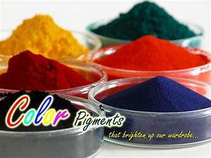 Color Pigments That Brighten Up Our Wardrobe