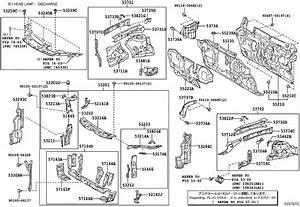 5373706040 - Seal  Front Fender Apron  Left