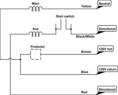 Capacitor How Wire Leads Single Phase